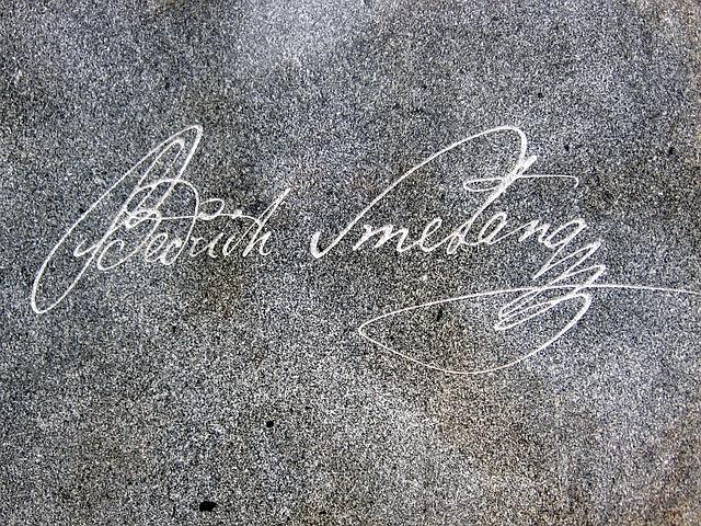 podpis Smetany