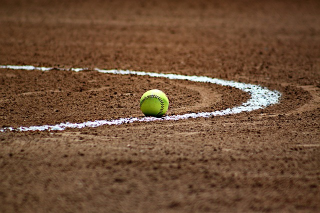 softbalový míček