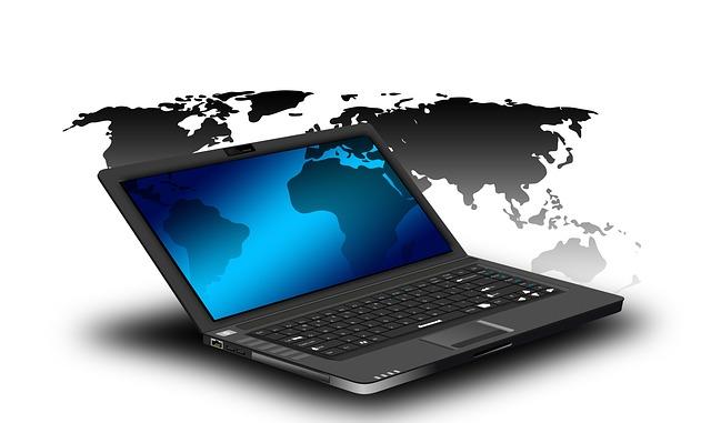 kontinenty na počítači