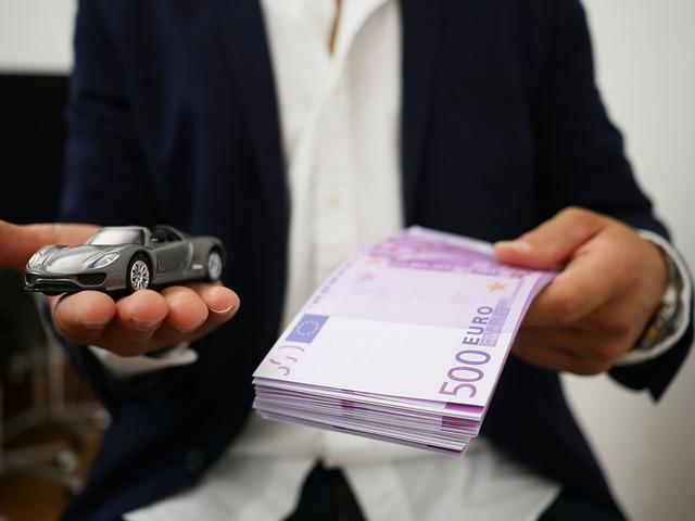 autíčko a peníze
